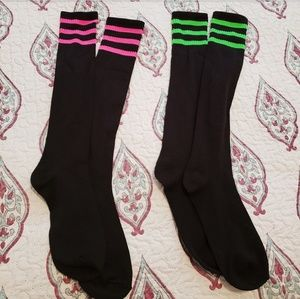 Other - 3/$10 2 pair of NWOT high socks.